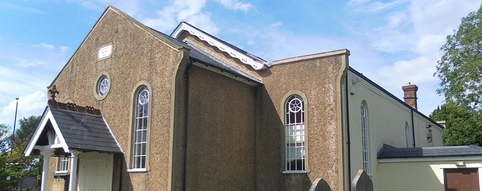 Borough Green Baptist Church Exterior Roadside View – BGBC