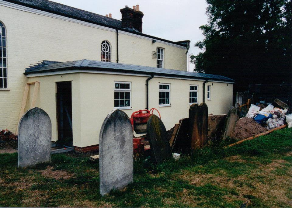 Borough Green Church Extension in 2002