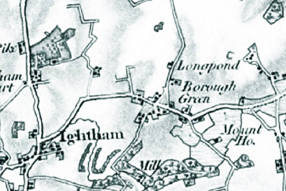 Borough Green Hamlet in the early 1800s