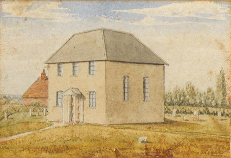 The original baptist chapel in Borough Green